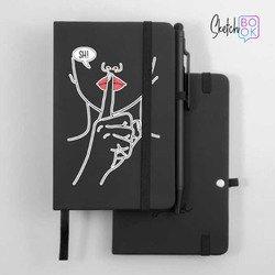 Sketchbook Black - Shhh