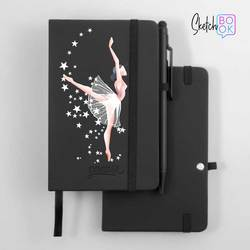 Sketchbook Black - Like a Ballerina