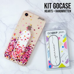 Kit Hearts + Handwritten (Kit Gogrip Hearts + Gogrip Handwritten)