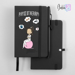 Sketchbook Black - Physiotherapy