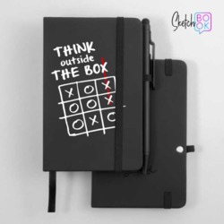 Sketchbook Black - Think Outside The Box