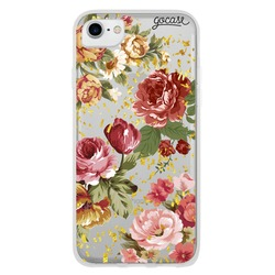 Flowers and Gold Phone Case