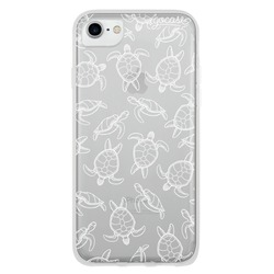 White Turtles Phone Case