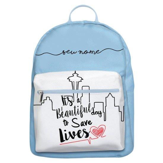 Mochila Gocase Bag - Save Lives Manuscrita