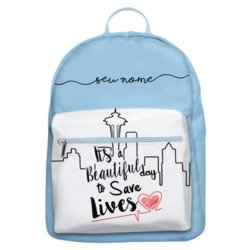 Mochila Gocase Bag - Save Lives Manuscrita