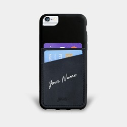 Black Pocket Case - Signature Phone Case