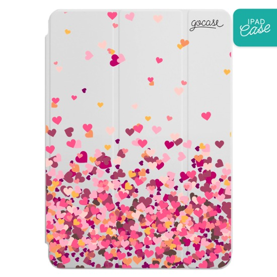 iPad case - Hearts