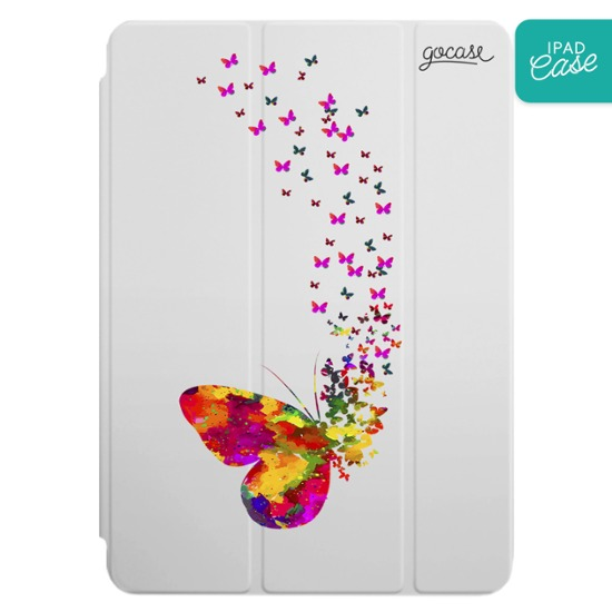iPad case - Floating Butterflies