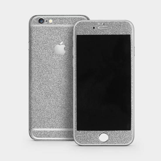 Silver Glitter Skin by Gocase