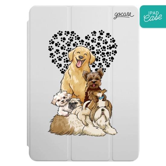 iPad case - Cute Puppies
