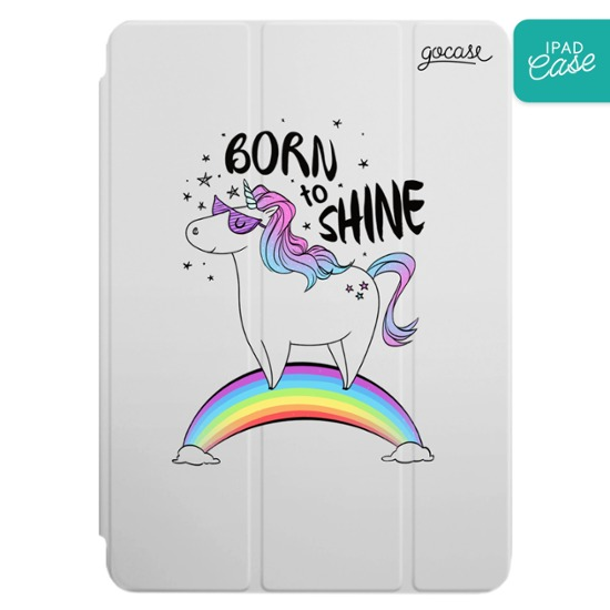 iPad case - Born to Shine