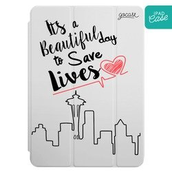 iPad case - Save Lives