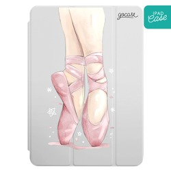 iPad case - Standing on toes
