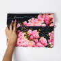 Clutch rose gold abrindo