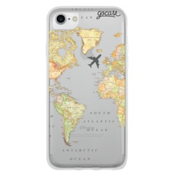 Coque World Map Blank