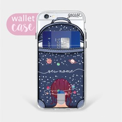 Capinha para celular Mente Universo Bag Manuscrita - Cartão