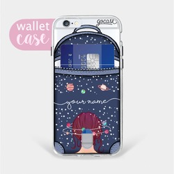 Universe Mind bag - Wallet Case Phone Case