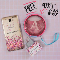 Kit Android Hearts (Case + Wall Charger + Pocket Bag)