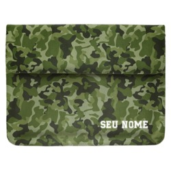 Pasta para Notebook - Camuflagem Militar Personalizada