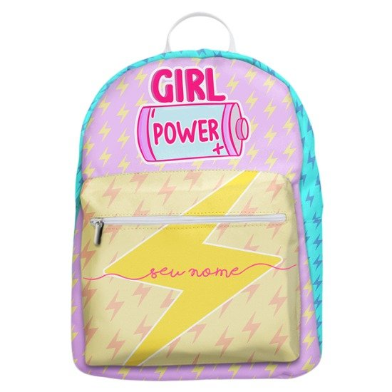 Mochila Gocase Bag - Girl Power Manuscrita