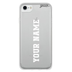 Vertical Name - Football Phone Case