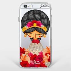 Capinha para celular Cores de Frida