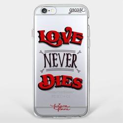 Capinha para celular Amor Nunca Morre