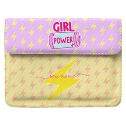 Case Clutch Notebook - Girl Power Manuscrita