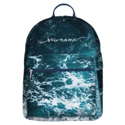 Mochila Gocase Bag - Ondas do Oceano Manuscrita
