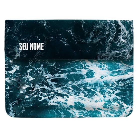 Pasta para Notebook - Ondas do Oceano