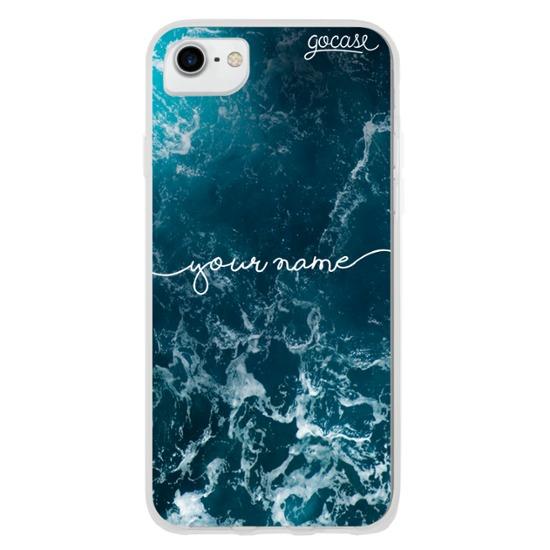 Ocean Waves Handwritten