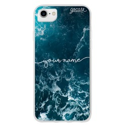 Ocean Waves Handwritten Phone Case