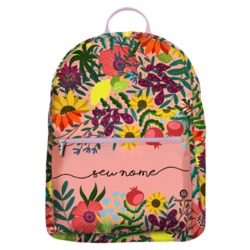 Mochila Gocase Bag - Flores e Frutas