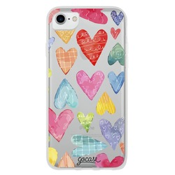 Colorful Hearts Phone Case