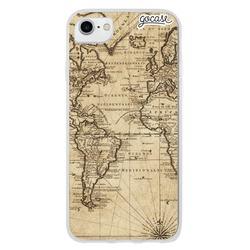 Capinha para celular Mapa Vintage