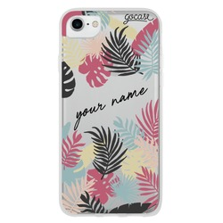 Tropical Vibe with Name Phone Case