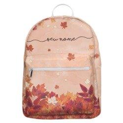 Mochila Gocase Bag - Folhas de Outono Manuscrita