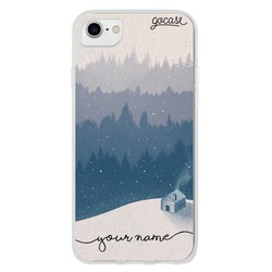 Snow Handwritten Phone Case