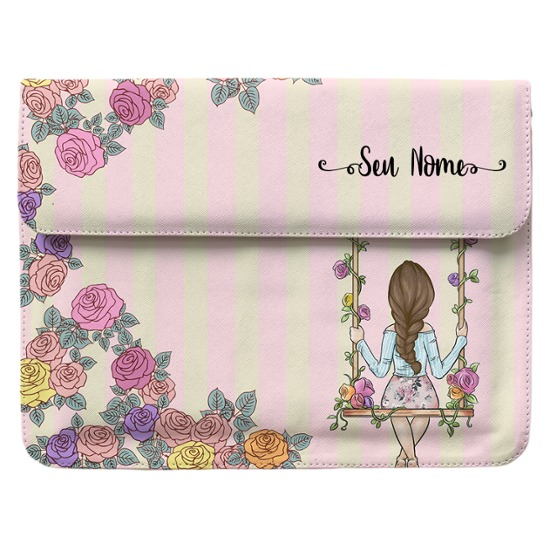 Case Clutch Notebook - BFF - Floral - Morena