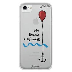 Capinha para celular Me Recuso a Afundar