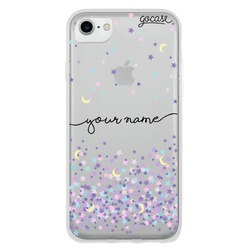 Moon and Stars Handwritten Phone Case