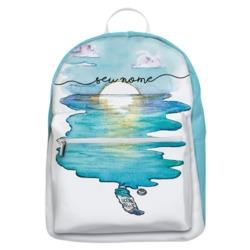 Mochila Gocase Bag - Aquarela Azul