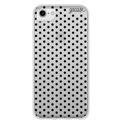 Black Dots Phone Case