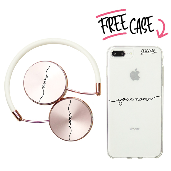 Kit Handwritten (headphones + case)