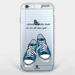 Capinha para celular Sapato Azul