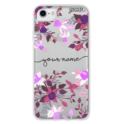 Floral Fuchsia Handwritten Phone Case