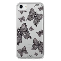Black Butterflies Phone Case