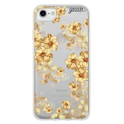 Golden Flowers Phone Case