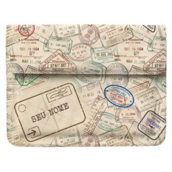 Case Clutch Notebook - Passaporte Personalizada