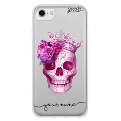 Pink Skull Phone Case